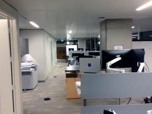 Mastercard Vancouver Office Corrdior Lighting